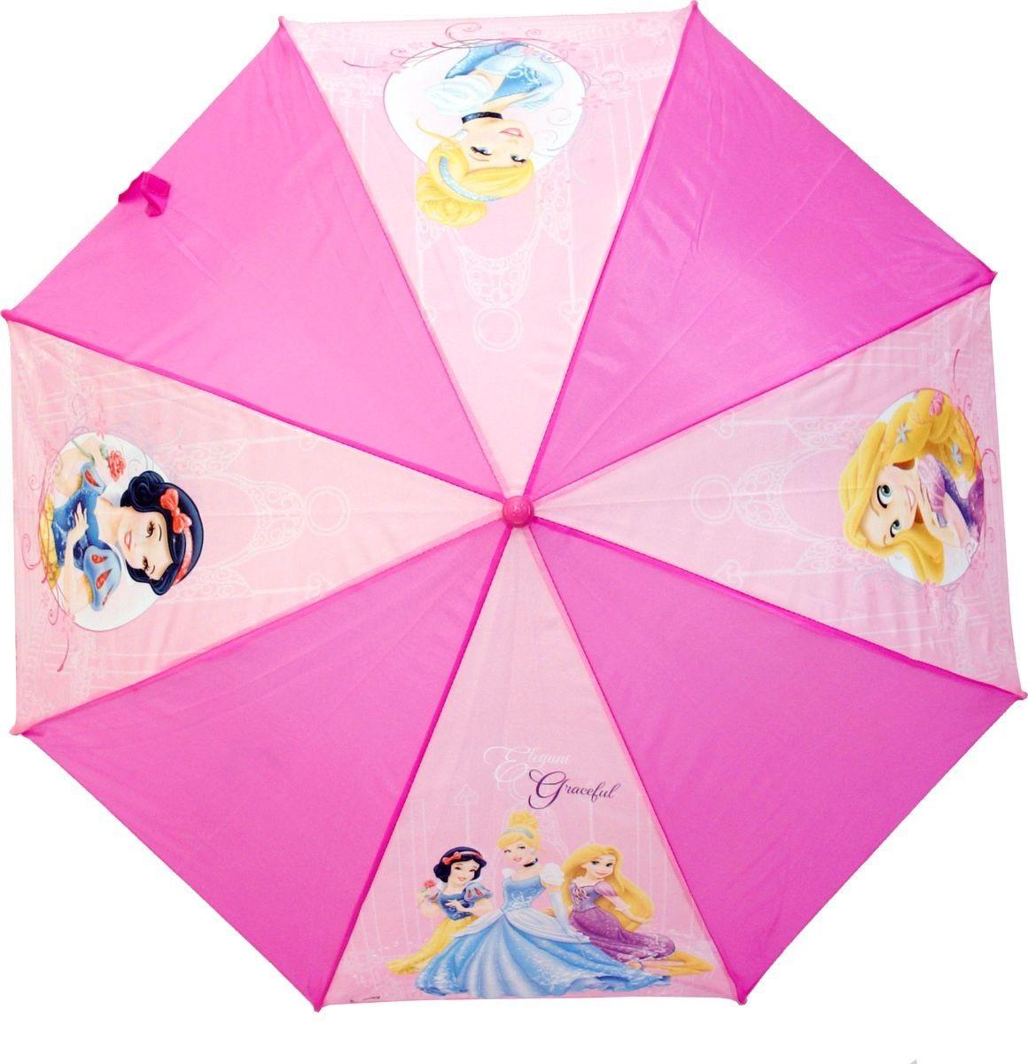 Зонт-трость из серии Disney Princess, 46 см., автоматический
