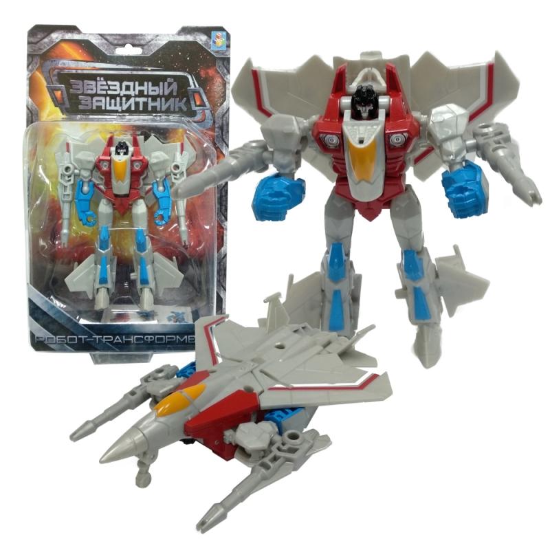 Робот-трансформер - Звездный защитник – Истребитель, 13 см