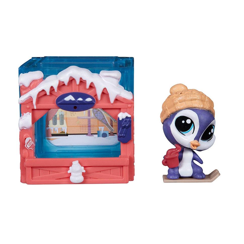 Littlest Pet Shop. Набор  Мини-комната с Пингвином - Littlest Pet Shop – Маленький зоомагазин, артикул: 149128