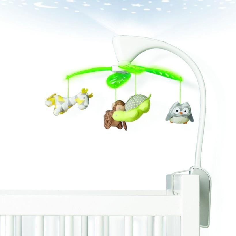 Мобиль на кроватку - Лесные друзьяМобили и музыкальные карусели на кроватку, игрушки для сна<br>Мобиль на кроватку - Лесные друзья<br>