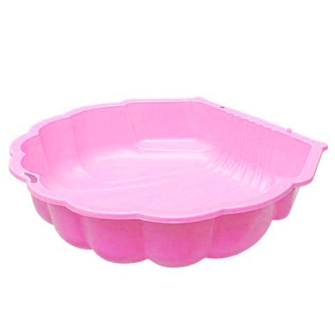 Песочница - ракушка одинарная, розоваяВсе для песочницы<br>Песочница - ракушка одинарная, розовая<br>