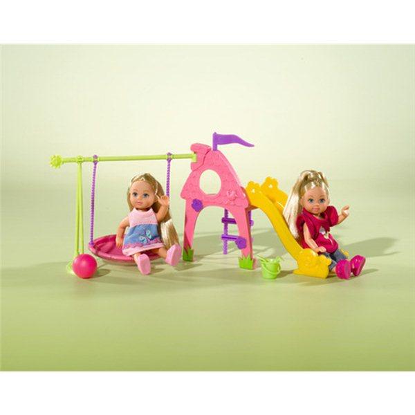 Игровая площадка с двумя куклами ЕвиКуклы Еви<br>Игровая площадка с двумя куклами Еви<br>
