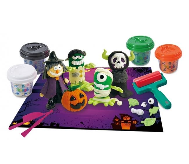 Набор с пластилином - ПривиденияНаборы для лепки<br>Набор с пластилином - Привидения<br>