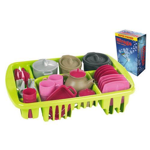 Набор посудкиАксессуары и техника для детской кухни<br>Набор посудки<br>