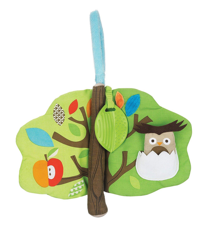 Развивающая игрушка-книжка Лесное деревоМягкие развивающие книжки<br>Развивающая игрушка-книжка Лесное дерево<br>