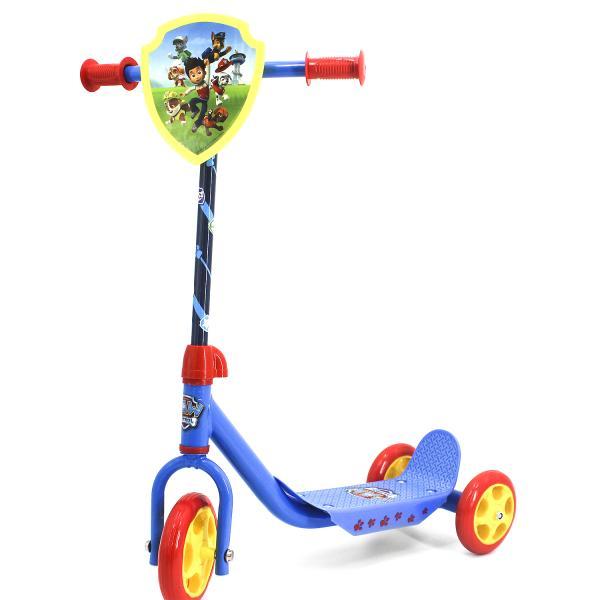 Трехколесный самокат – Щенячий Патруль, колеса 14,5 и 12 см, голубой