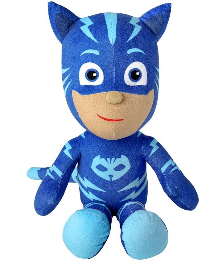 Купить Большая мягкая игрушка Герои в масках PJ masks – Кэтбой, 45 см., Росмэн