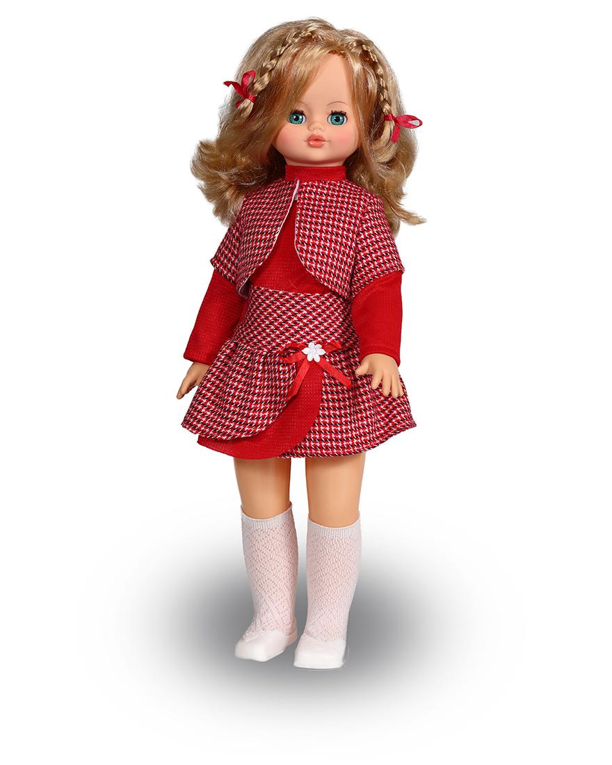 Озвученная кукла Эльвира 2 с механизмом движения, 55 смРусские куклы фабрики Весна<br>Озвученная кукла Эльвира 2 с механизмом движения, 55 см<br>