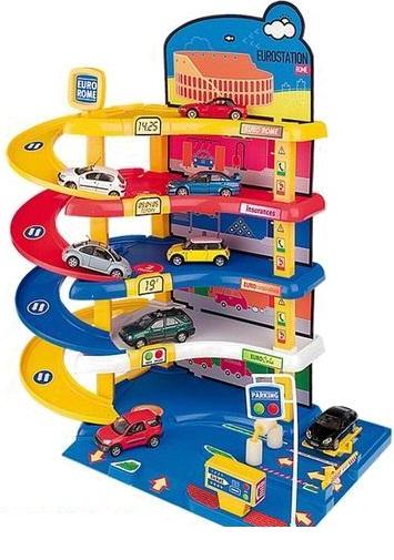 Игровой гараж Авто паркинг - Детские парковки и гаражи, артикул: 28507