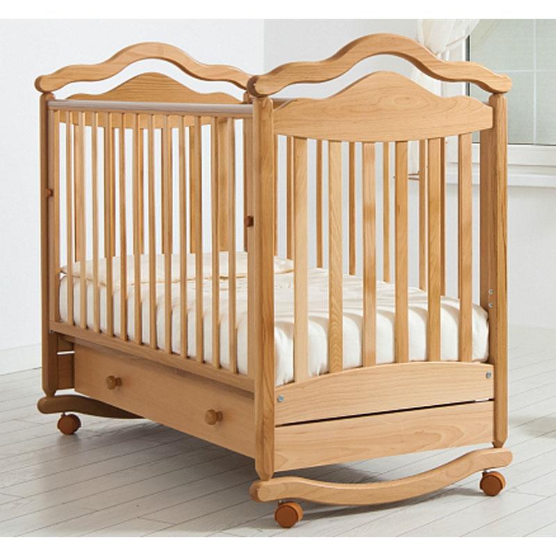 Купить Кровать детская Гандылян К-2005-1 Анжелика, натуральный, GANDYLYAN