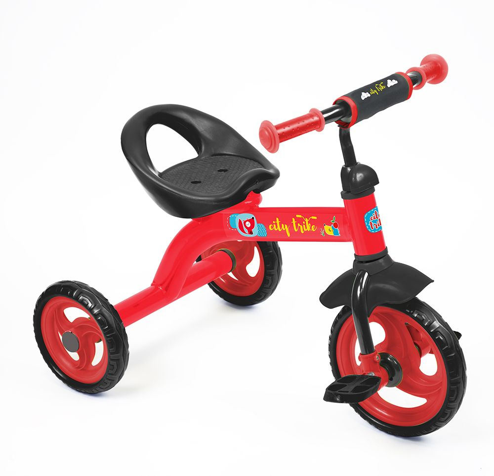 Велосипед City trike СТ-13, красный - Велосипеды детские, артикул: 159218