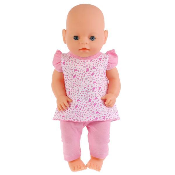 Купить Одежда для кукол размером 40-42 см. – Костюм с легинсами и туникой Бабочки, Карапуз