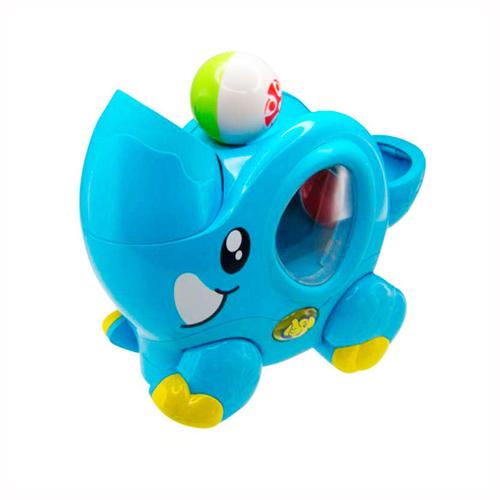 Интерактивная игрушка - Цирковой слоненок, свет и звукИнтерактив для малышей<br>Интерактивная игрушка - Цирковой слоненок, свет и звук<br>