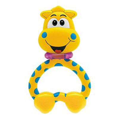 Погремушка-прорезыватель «Жираф»Детские погремушки и подвесные игрушки на кроватку<br>Погремушка-прорезыватель «Жираф»<br>