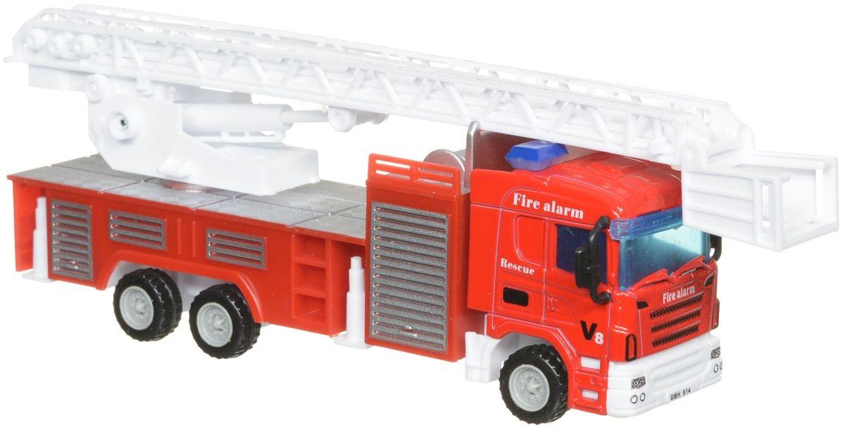 Машина пожарная металлическая, JUNFA TOYS  - купить со скидкой