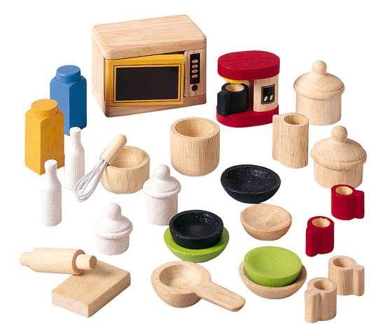 Аксессуары для кухни кукольного домика