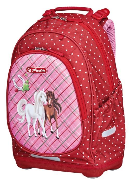 Рюкзак школьный Bliss Horses, без наполненияШкольные рюкзаки<br>Рюкзак школьный Bliss Horses, без наполнения<br>
