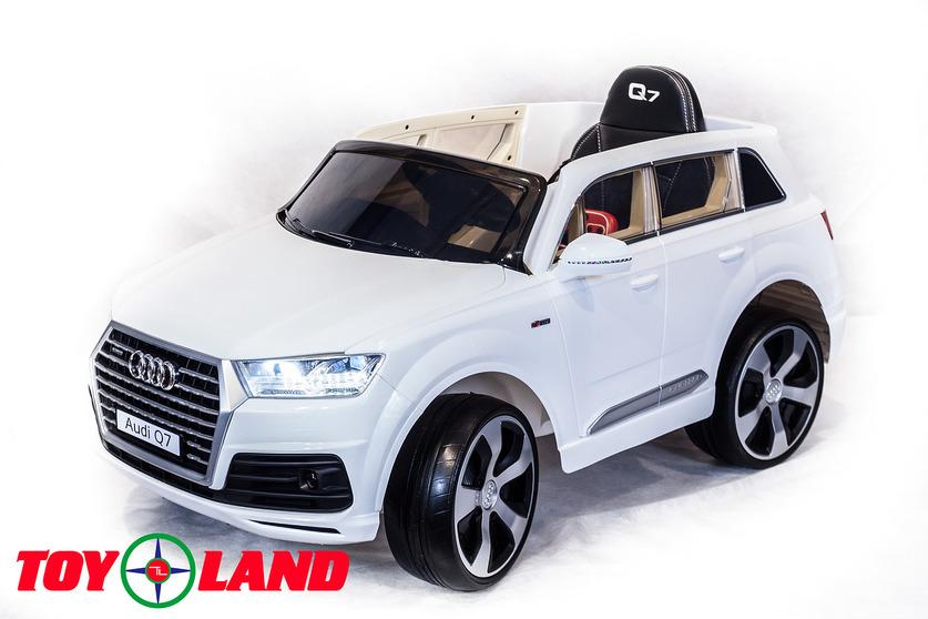 Электромобиль Audi Q7 белыйЭлектромобили, детские машины на аккумуляторе<br>Электромобиль Audi Q7 белый<br>