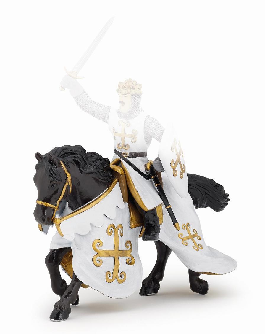 Фигурка коня рыцаря с мечом в кольчугеФигурки Papo<br>Фигурка коня рыцаря с мечом в кольчуге<br>