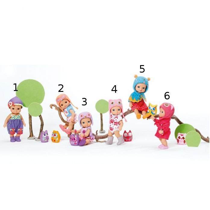Мини-птичка - Кукла 12 см, 1 волнаПупсы<br>Мини-птичка - Кукла 12 см, 1 волна<br>