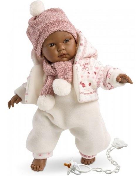 Кукла Кукуй, мулат, 30 смИспанские куклы Llorens Juan, S.L.<br>Кукла Кукуй, мулат, 30 см<br>