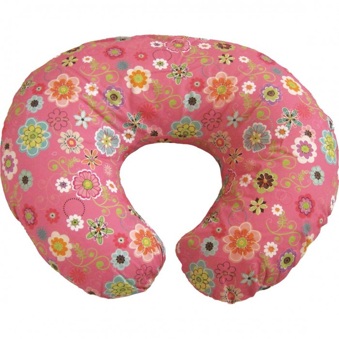 Подушка Boppy с хлопковым чехлом Wild Flowers - Разное, артикул: 141675