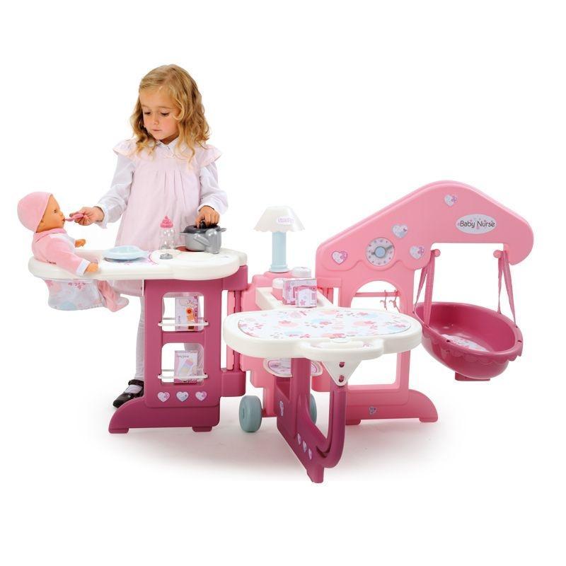 Игровой набор для пупса Baby Nurse - Наборы для кормления и купания пупса, артикул: 62293