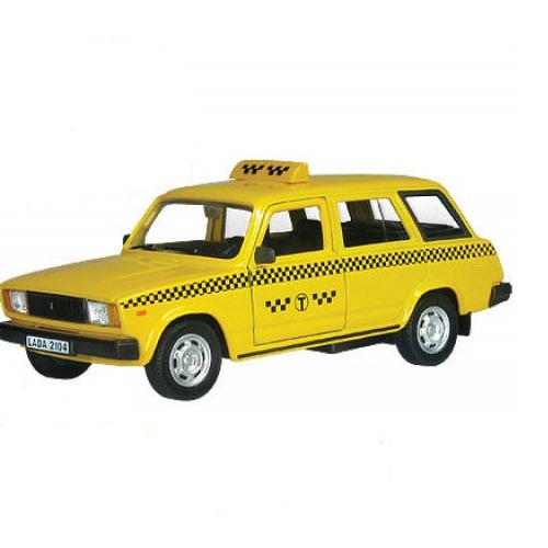 Купить Машинка металлическая Lada 2104 Такси, 1:36, AUTOTIME