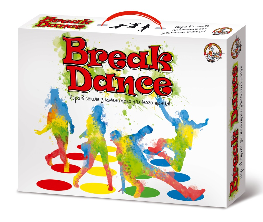 Игра для детей и взрослых - Break DanceТвистер (Twister)<br>Игра для детей и взрослых - Break Dance<br>