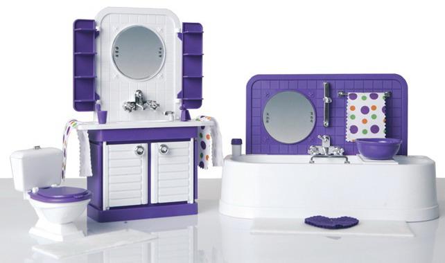 Ванна комната «Конфетти»Кукольные домики<br>Ванна комната «Конфетти»<br>