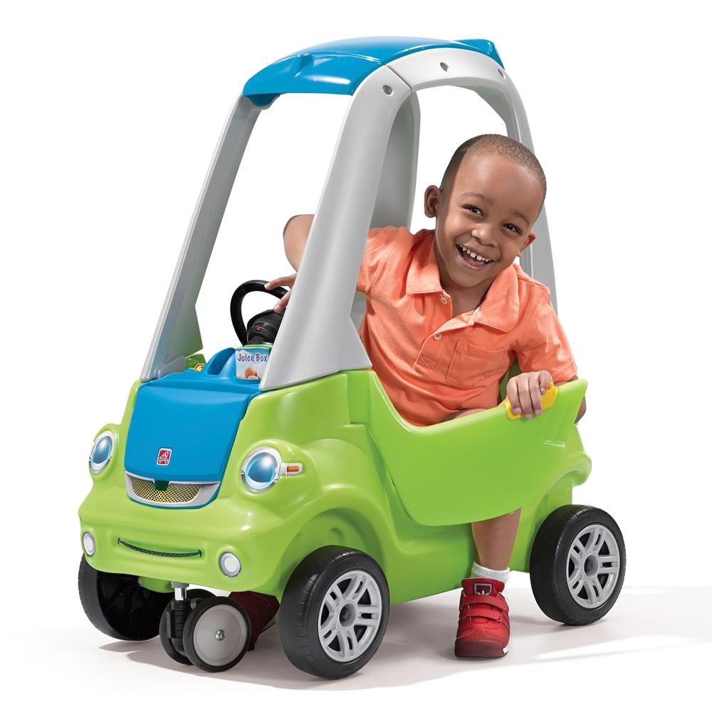 Машинка - Легкий поворот, зеленаяМашинки-каталки для детей<br>Машинка - Легкий поворот, зеленая<br>