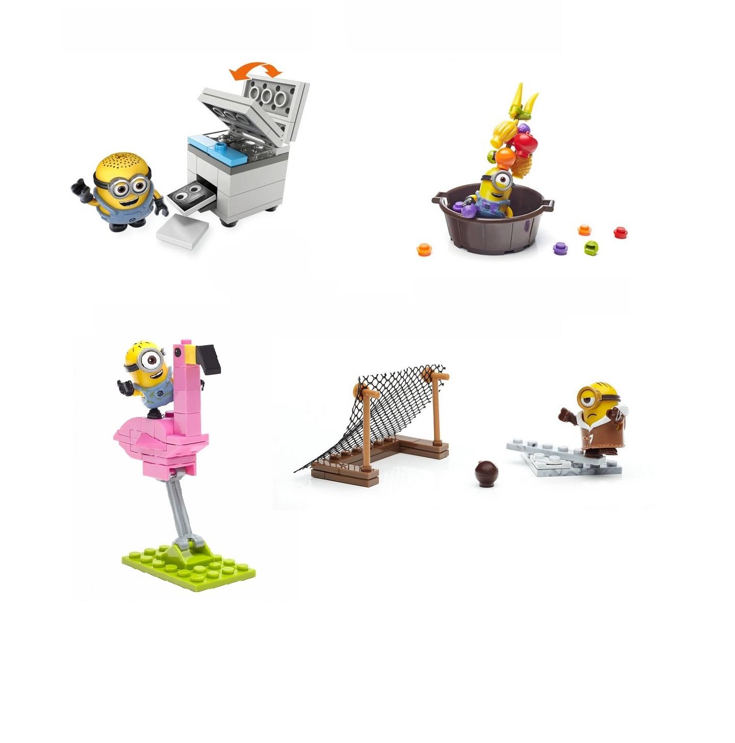 Весёлые игровые мини-наборы из серии Миньоны, 4 видаМиньоны<br>Весёлые игровые мини-наборы из серии Миньоны, 4 вида<br>