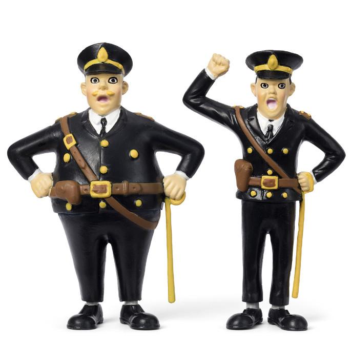 Набор кукол для домика Пеппи Длинный чулок полицейские фото