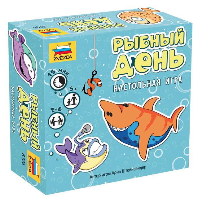 Игра настольная - Рыбный деньРазвивающие<br>Игра настольная - Рыбный день<br>