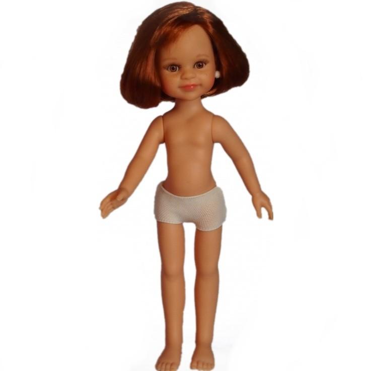 Кукла Клео, без одежды, 32 см.Испанские куклы Paola Reina (Паола Рейна)<br>Кукла Клео, без одежды, 32 см.<br>