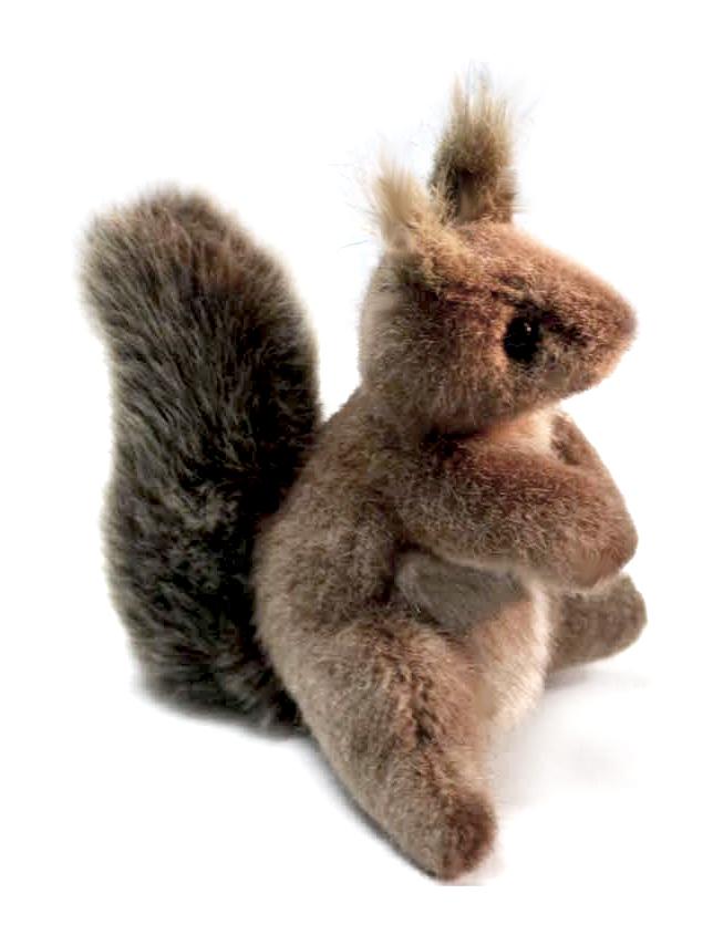 Мягкая игрушка – Белка, 16 смДикие животные<br>Мягкая игрушка – Белка, 16 см<br>