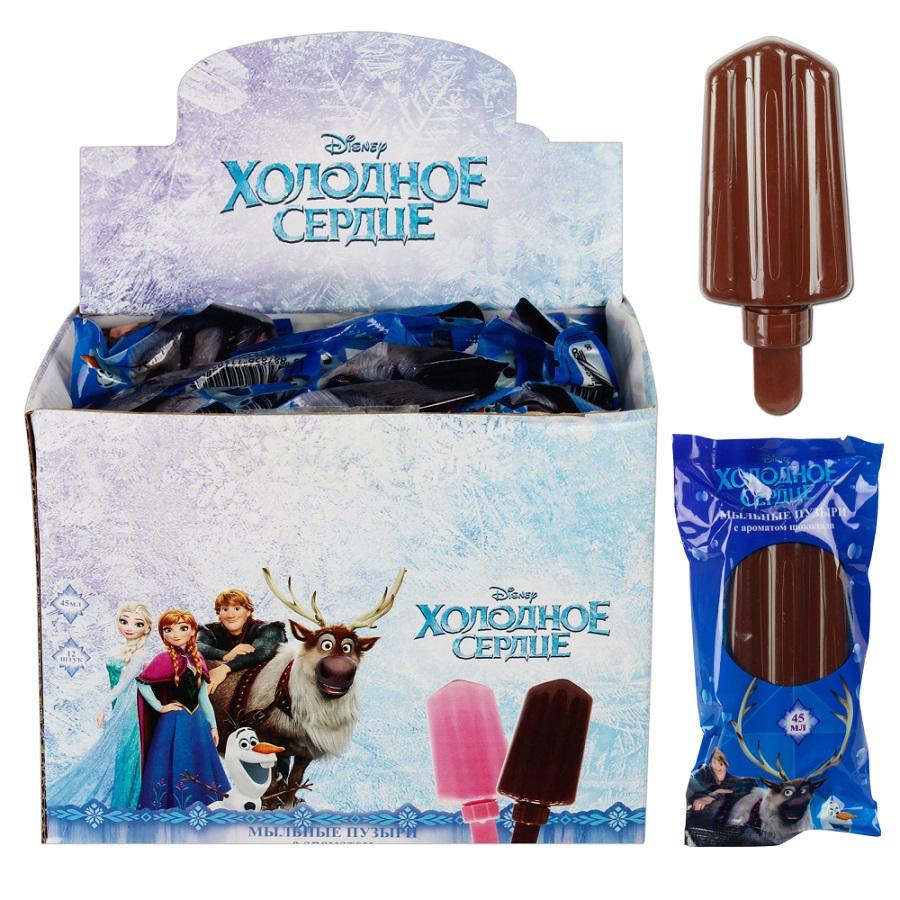 Мыльные пузыри – Эскимо с ароматом шоколада. Disney Холодное сердце, 45 мл