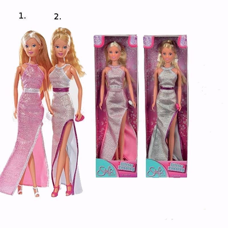 Кукла Штеффи в сияющем вечернем платье, 29 см., 2 вида фото