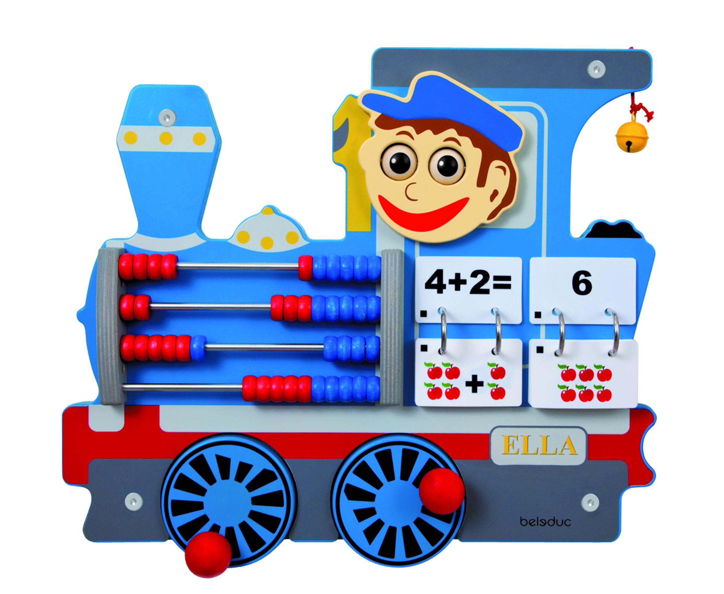 Настенный игровой элемент – Локомотив - Деревянные игрушки, артикул: 164655
