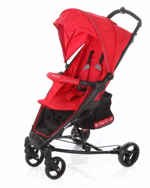 Купить Коляска прогулочная Rimini, red, Baby Care