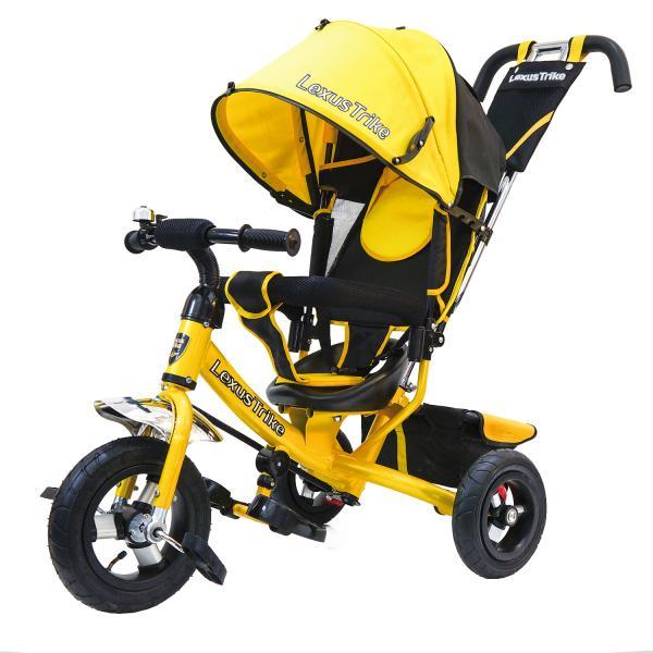 Купить Трехколесный велосипед - Lexus Trike, колеса 10 и 8 , желтый