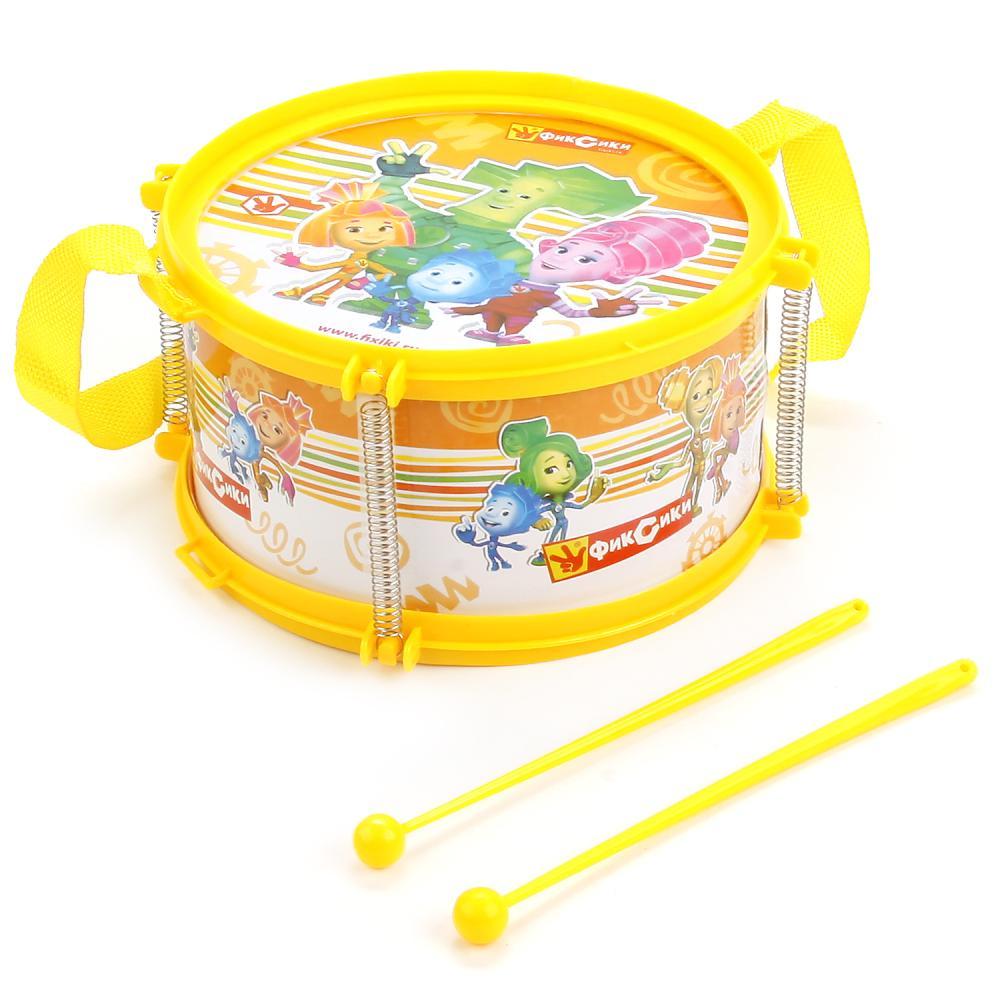 Детский музыкальный инструмент – Фиксики. Барабан
