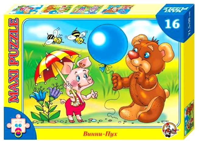 Макси-пазл «Винни Пух»Пазлы для малышей<br>Макси-пазл «Винни Пух»<br>