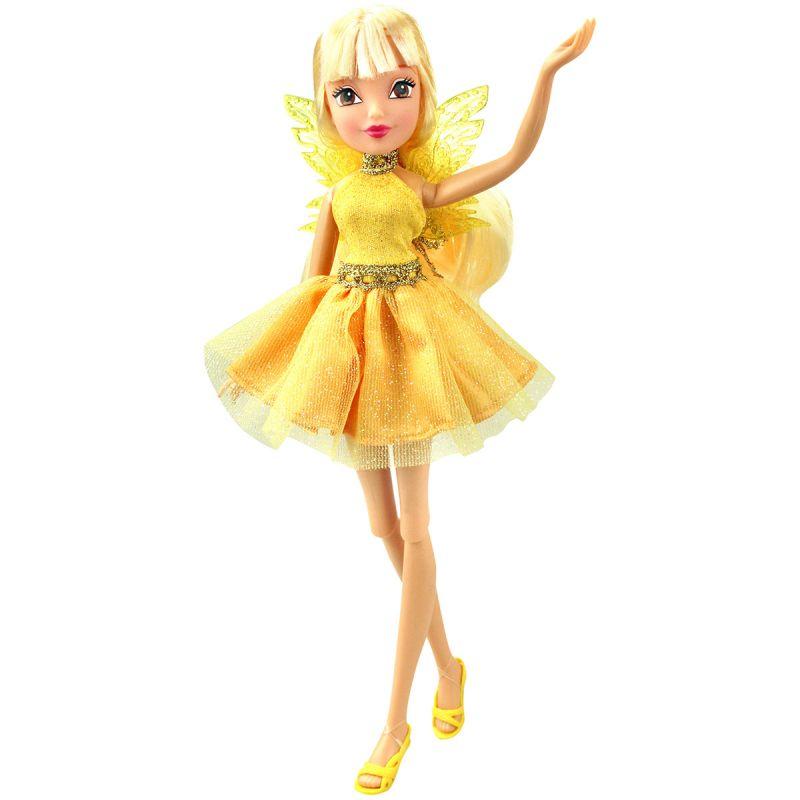 Кукла Стелла из серии Winx Club Мода и магия-4Куклы Винкс (Winx)<br>Кукла Стелла из серии Winx Club Мода и магия-4<br>