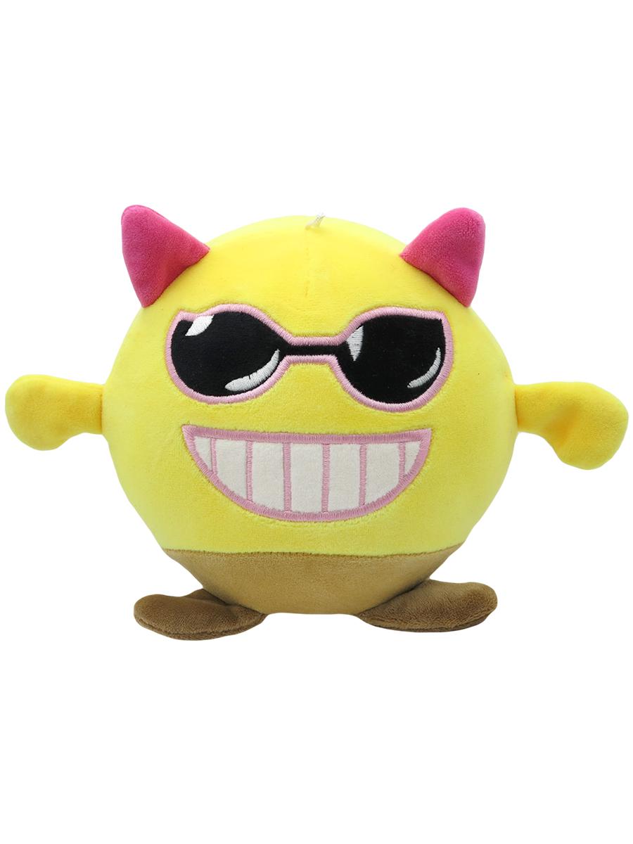 Мягкая игрушка-антистресс – Чертик, желтая, 15 см