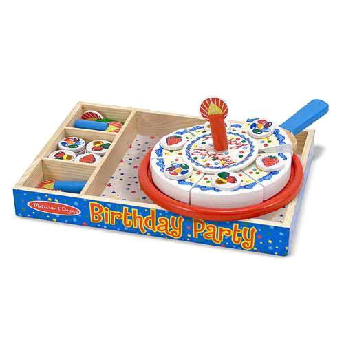 Купить Игровой набор - День рождения из серии Готовь и играй, Melissa&Doug
