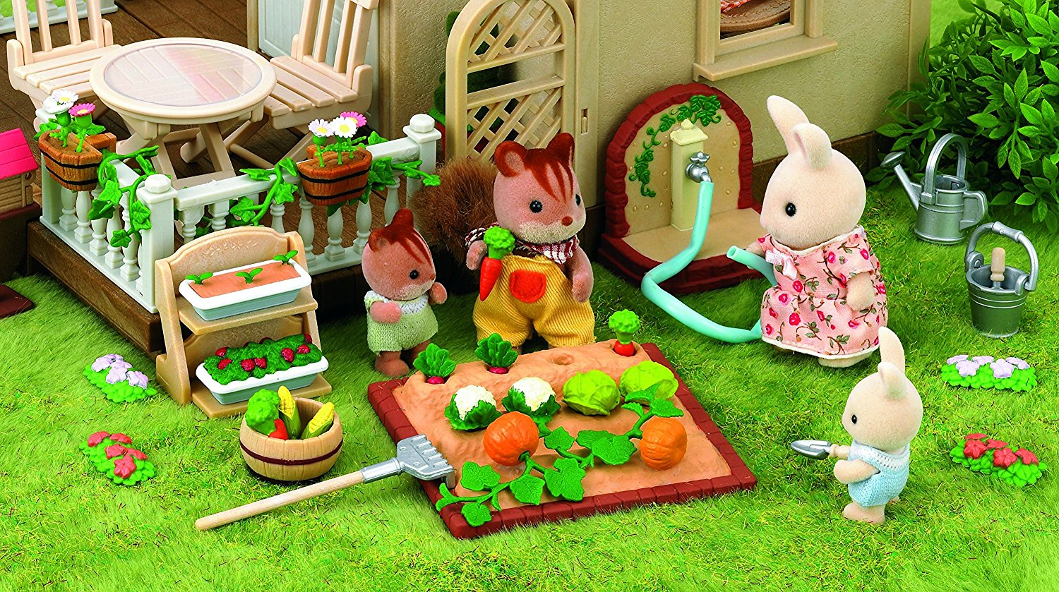 Sylvanian Families - Огород от Toyway