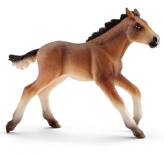 Купить Фигурка лошади – Мустанг жеребенок, размер 10 х 8 х 3 см., Schleich