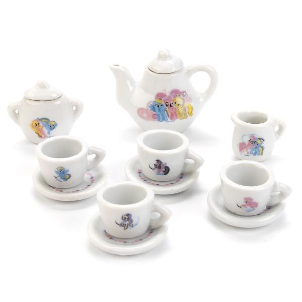 Набор посуды - 11 предметов - My little ponyАксессуары и техника для детской кухни<br>Набор посуды - 11 предметов - My little pony<br>