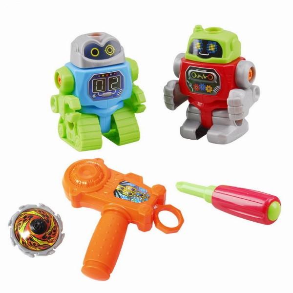 Игровой набор - Собери роботаРазвивающие игрушки PlayGo<br>Игровой набор - Собери робота<br>